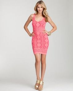 56f7a14232 bebe Diamond Lace Bodycon Dress - Sexy Party Dress, Dresses For Work, Sexy  Dresses