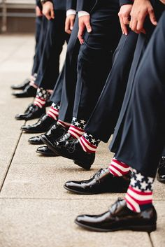 Classic Fourth of July Wedding / Men's wedding attire/ Patriotic wedding in Columbus, OH http://www.theeventprep.com photo by Robb McCormick