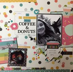 Coffee And Donuts **NEW Simple Stories - Scrapbook.com
