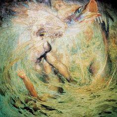 Nestor y el Poema del Atlantico.Borrasca (Museo Nestor) Storm