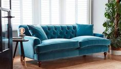 Charnwood Large Sofa in Varese Turquoise R10