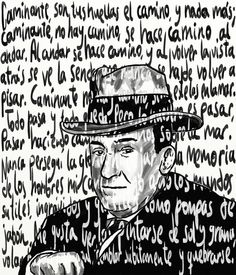 antonio machado caligrama