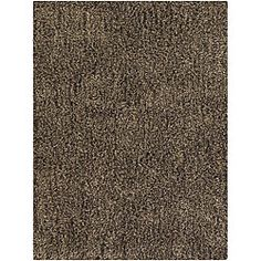 Hand-woven Mandara New Zealand Wool Shag Rug (8' x 10')