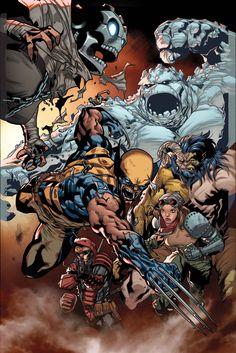 X-Men - Battle of the Atom by Stuart Immonen *