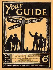 Pamphlet to raise awareness of the government's new welfare legislation benefits.