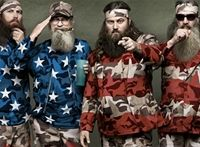 Speaking with Sports Spectrum magazine, Duck Dynasty stars Willie and Phil Robertson stated that editors on Duck Dynasty had edited out Jesus' name in prayers to spare Muslim sensitivities.