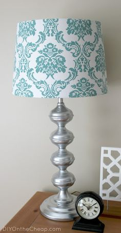 Thrift Store Lamp Makeover - DIY on the Cheap