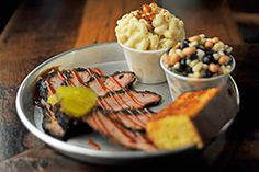 The brisket at Edley's is usually the first menu item to sell out everyday. There's a reason why. You have to try this for yourself!
