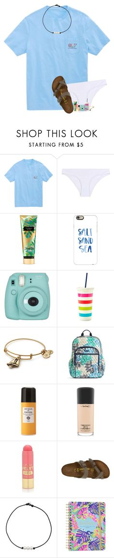 """SUMMER"" by southernmermaid ❤ liked on Polyvore featuring Vineyard Vines, Heidi Klein, Casetify, Fujifilm, Kate Spade, Alex and Ani, Vera Bradley, Acqua di Parma, MAC Cosmetics and L.A. Girl"