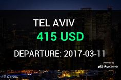 Flight from Miami to Tel Aviv by JetairFly #travel #ticket #flight #deals   BOOK NOW >>>