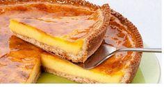Tarte rápida de maisena - Sobremesas de Portugal Portuguese Desserts, Portuguese Recipes, Sweet Recipes, Cake Recipes, Dessert Recipes, Good Food, Yummy Food, Sweet Pie, Sweet Cakes