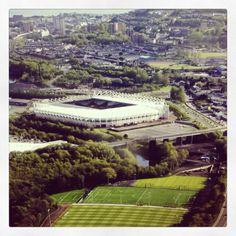 Swansea City Academy in Landore and Liberty Stadium