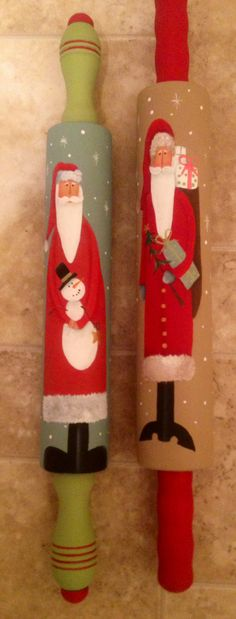 old rolling pins...