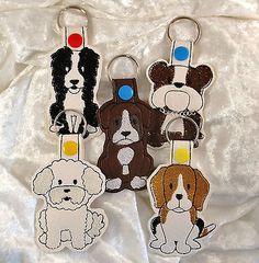 Schlüsselanhänger Hund Hunderasse, verschiedene Rassen, große Auswahl