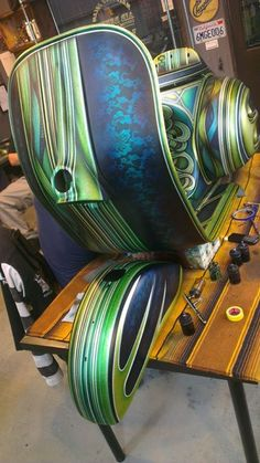 Air Runner Custom Paint  Jeffrey Chang.
