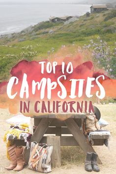 As a native Southern Californian, I grew up spending my summers in the outdoors and camping in some of California's most incredible campsites. Nothing beats a night bundled up by a campfire under the stars! Whether you prefer bumming it on the beach, dwel Camping Bedarf, Camping Places, Camping Spots, Family Camping, Campsite, Camping Ideas, Camping Trailers, Winter Camping, Camping Hammock