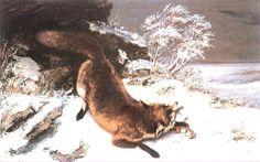 Gustave Courbet et la chasse
