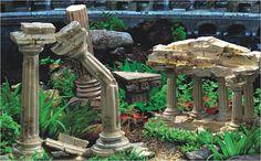Roman Greek Aquarium Fish Tank