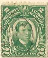 Philippines - Stamp 1917? Jose Rizal 2 Centavos  Philippines (Philippine Islands, United States of America) Stamp - 2 Centavos  I found two people who listed this at 1917, but it is postmarked in 1936, so I don't know if it is that old or not.