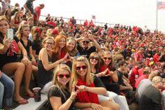 Game Day at Nebraska #KappaDelta