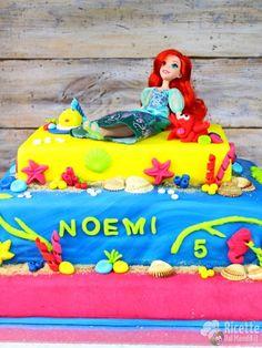 Come fare la torta della sirenetta Ariel in pdz