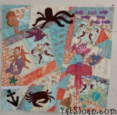 crazy quilting with applique
