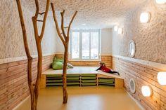 Berlin Kindertagesstätte Drachenhöhle Baukind-Innendesign Projekt