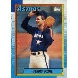 1990 Topps Baseball Card #494 TERRY PUHL Houston Astros Old Vintage