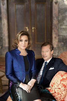 Ce mardi 22 mars, la grande-duchesse Maria Teresa, épouse du souverain du Luxembourg, fête ses 60 ans.