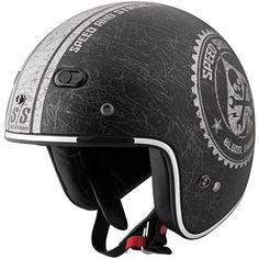 Speed and Strength SS600 Open-Face Motorcycle Helmet | Cruiser | Jake Wilson