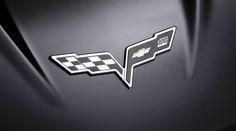 Chevrolet Corvette Logo Emblem Wallpaper