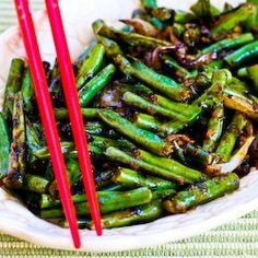 Garlicky Green Beans Stir Fry