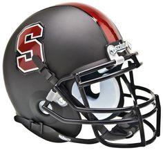 Stanford Cardinal Black Schutt XP Mini Helmet