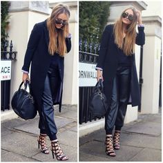 black | fall | outfit