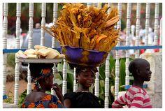 A typical street scene in Conakry, Guinea   by John_F_Kennedy