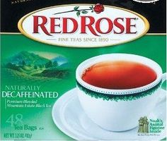 Red Rose Naturally Decaffeinated Tea 48Count Boxes Pack of 3 ** Find out more about the great product at the image link. (This is an affiliate link and I receive a commission for the sales)
