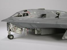 cyberware and laws of war - volumetricdisplacement: spirit Scale Models, Stealth Bomber, Model Hobbies, Rc Model, Model Kits, Model Maker, Military Modelling, Military Diorama, Model Airplanes