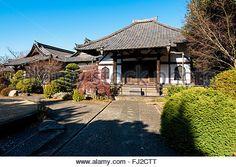 Tokyo, Japan - Enmei-ji Temple in Yanaka