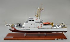 "29"" (1/45 scale) US Coast Guard Island Class Patrol Boat model. SD Model Makers builds replica #USCoastGuard cutter and boat models in ANY size or scale. Contact us for a quote. www.sdmodelmakers.com"