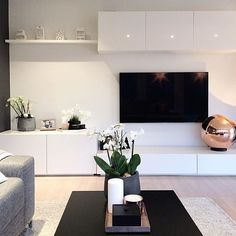 A importância de um móvel bem estruturado Die Bedeutung gut strukturierter Möbel Living Room Tv Unit, Ikea Living Room, Home Interior Design, Interior Colors, Home And Living, Coastal Living, Living Room Designs, Home Remodeling, Home Decor