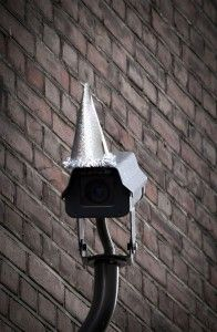 Things We Saw Today: Security Cameras In Party Hats via The Mary Sue