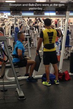 Mortal Kombat's Gym
