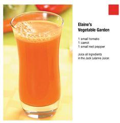 Elaine's Vegetable Garden Jack LaLanne's Power Juicer - Official Website