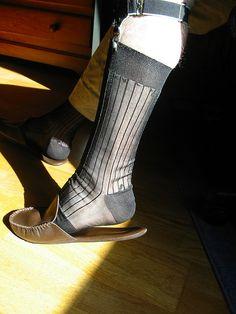 Frette Marcus leather slippers, Gold Toe TNT sheer socks & sock garters Sheer Socks, Leather Slippers, Dress Socks, Fashion Line, Dapper, Peep Toe, Feminine, Boots, Heels