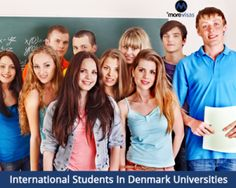 Huge number of International #students are studying in #Denmark universities because of good scholarships...