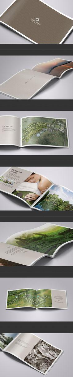 Nine Ivory I - Real Estate Brochure by G12 Design, via Behance