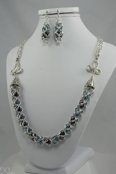 Verna #chainmaille #chain #necklace