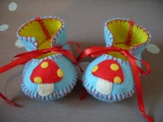 Baby Booties Baby Boy Booties Baby First Shoes por funkyshapes