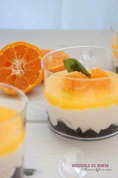 verrine mascarpone mousse orange gelè