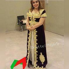 Caftan algérien  القفطان الجزائري ❤❤